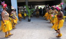 Iveiava Dancer at the Launch of Goilala Foundation Inc - UPNG
